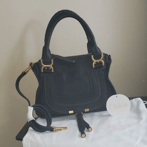 Small Chloe Marcie Leather Handbag